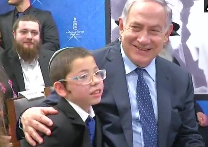 Israel PM Benjamin Netanyahu meets 2611 survivor Moshe