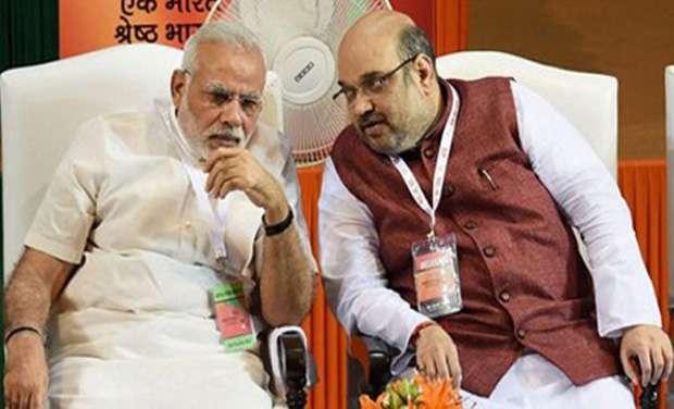 File photo of PM Narendra Modi and BJP chief Amit Shah