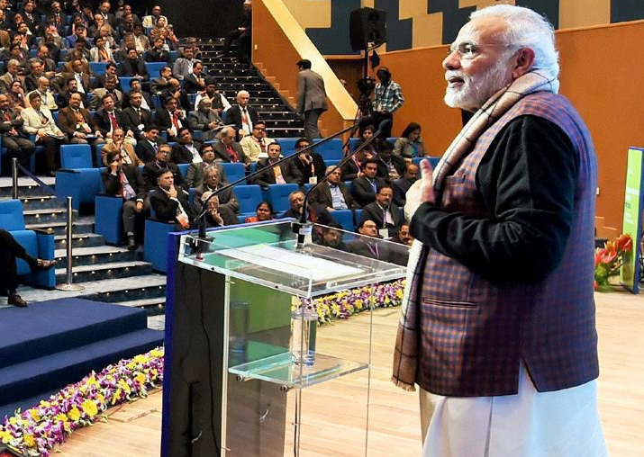 PM Modi addressing the Conference on Transformation of