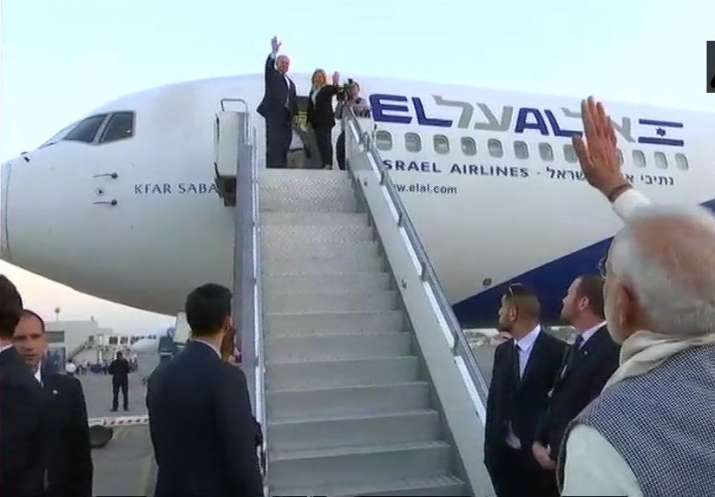 Israeli PM leaves for Mumbai, to pay homage to 26/11