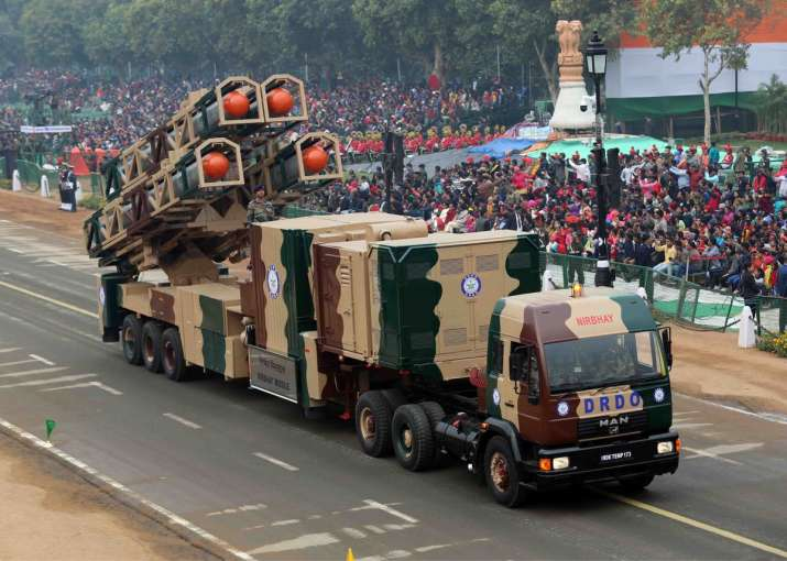 Indigenous Subsonic Cruise Missile 'Nirbhay' making its