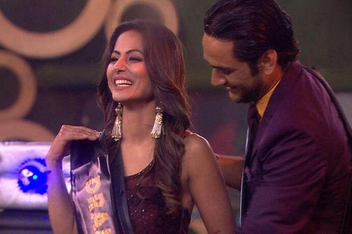 Bigg Boss 11 Weekend Ka Vaar Hina Khan Wins Drama Queen Award