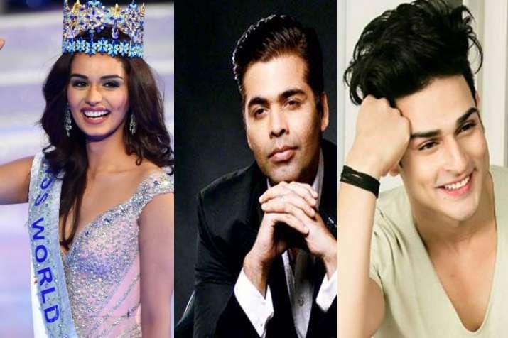 Manushi Chhillar Bollywood debut Karan Johar Student of the