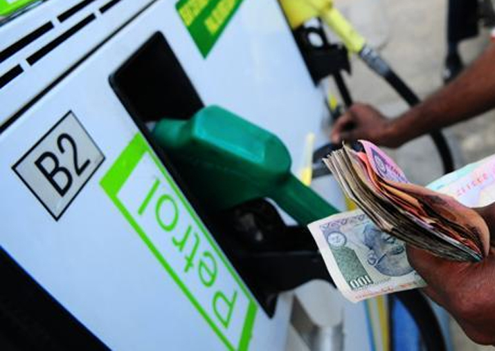Representational pic - Petrol prices breach Rs 71-mark in