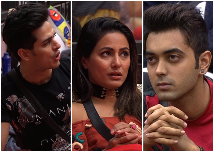 Hina Khan on Bigg Boss 11 friends Priyank Sharma and Luv