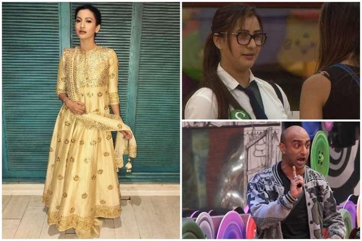Gauhar Khan, Shilpa Shinde, Akash Dadlani, Bigg Boss 11
