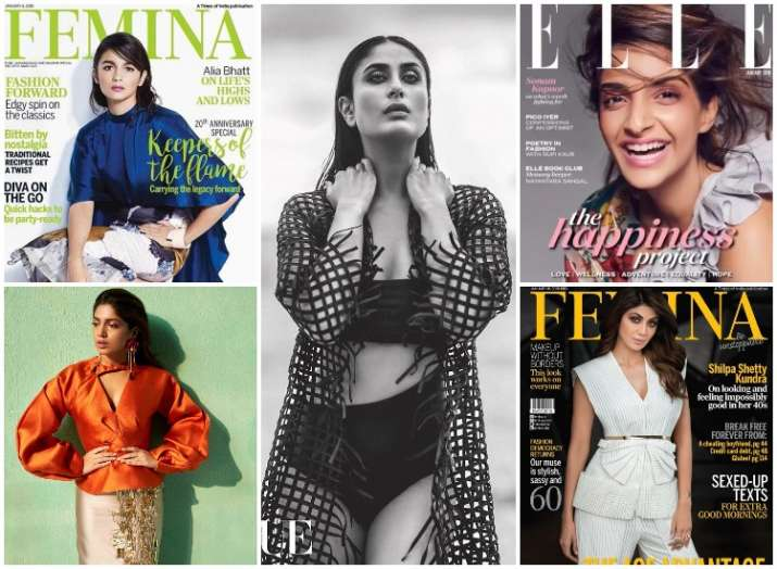 Magazine covers for January