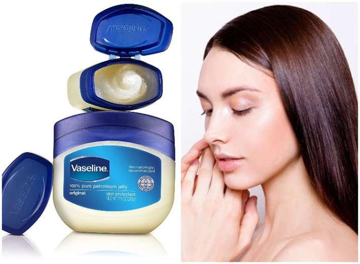 Vaseline for beauty hacks