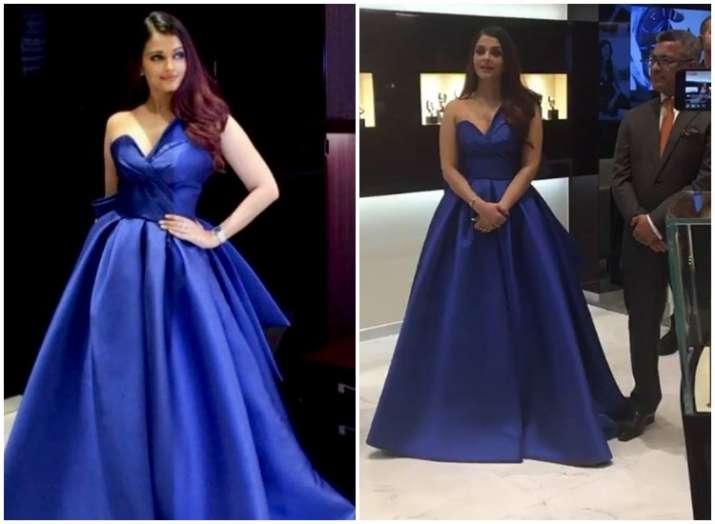 Aishwarya Rai Bachchan wows in blue
