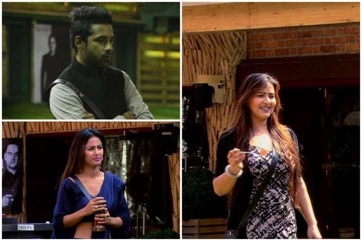 Shilpa Shinde, Hina Khan, Puneesh Sharma, Bigg Boss 11