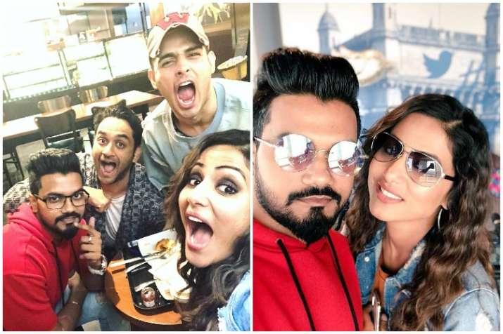Hina Khan, Vikas Gupta, Priyank Sharma, Bigg Boss 11
