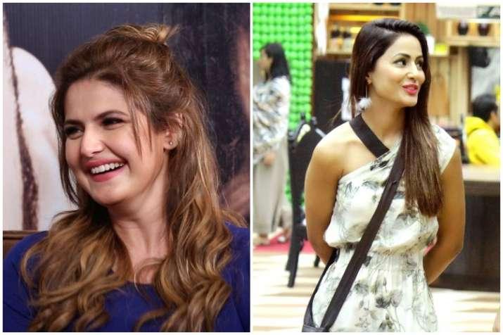 Zareen Khan, Hina Khan, Bigg Boss 11