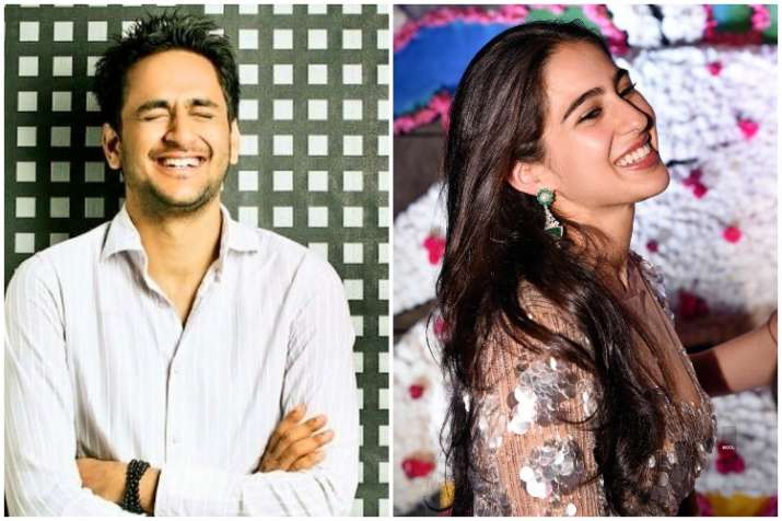 Vikas Gupta, Sara Ali Khan, Bigg Boss 11