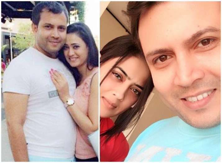 Shweta Tiwari with husband Abhinav Kohli