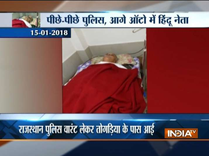 Pravin Togadia, who went 'missing', found unconscious in