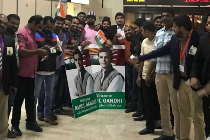Fans and well wishers throng the Bahrain Airport to greet