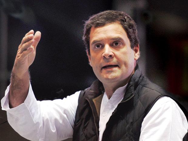 rahul gandhi takes a jibe at pm modi after his davos speech asks
