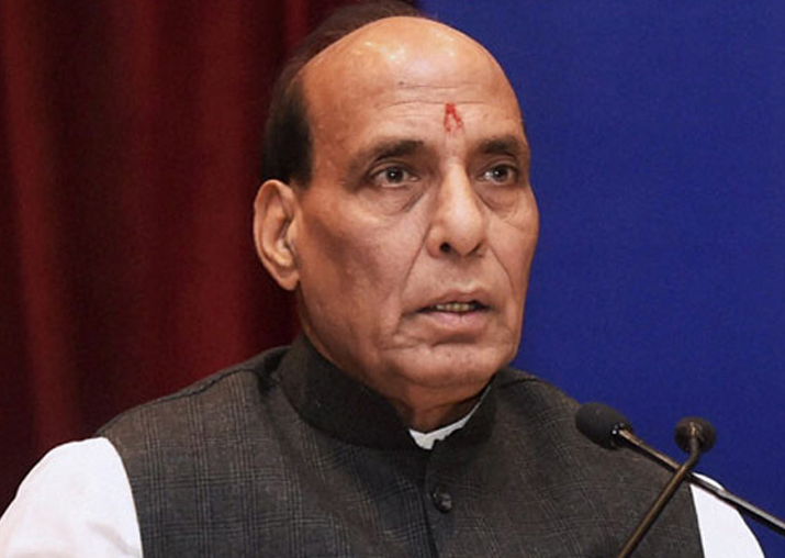 File pic of Rajnath Singh