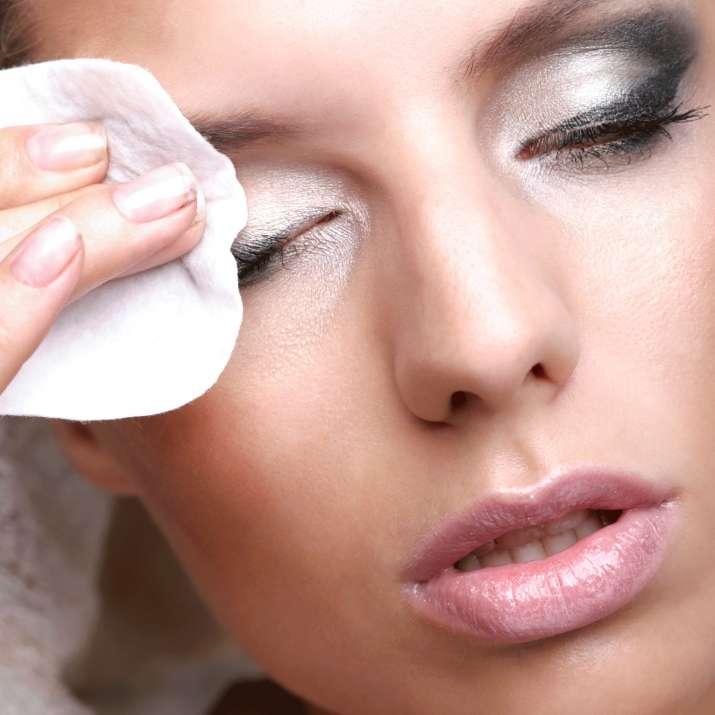 India Tv - Vaseline for eye makeup removal