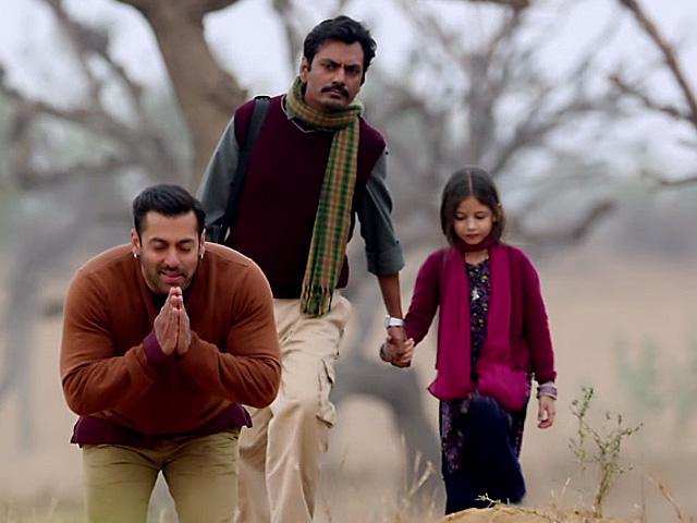 Salman Khan, Nawazuddin Siddiqui and Haarshali Malhotra