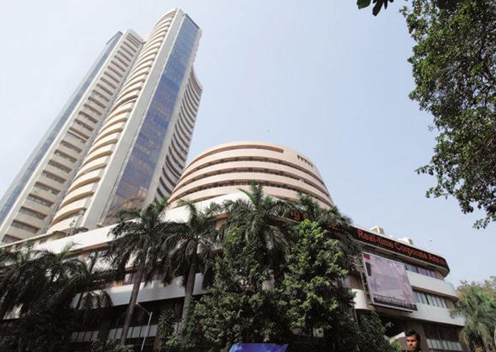 Sensex closes at record high for third day on global leads,
