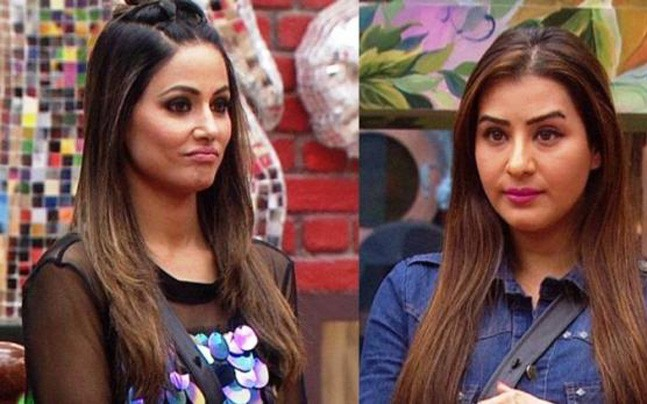 Bigg Boss 11 Hina Khan makes fun of Shilpa Shinde fans