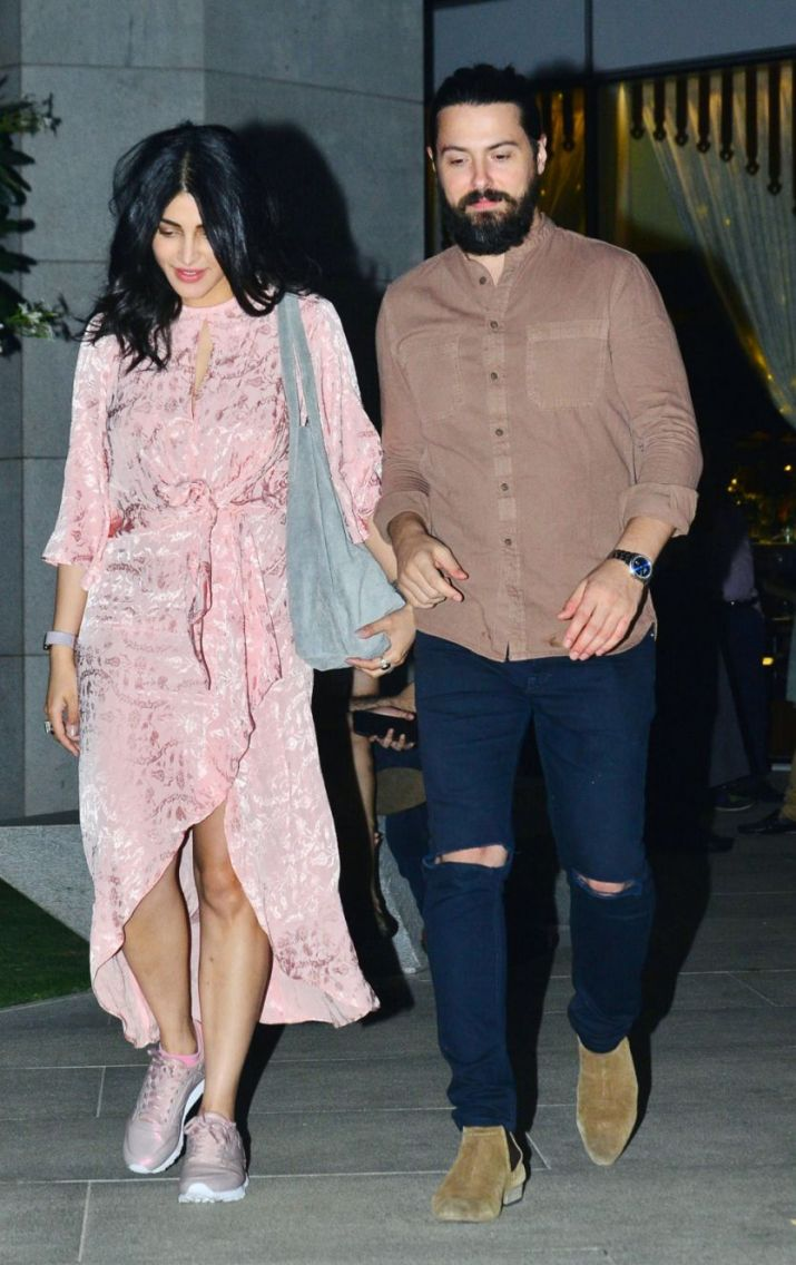 India Tv - Shruti Haasan with her rumoured bf
