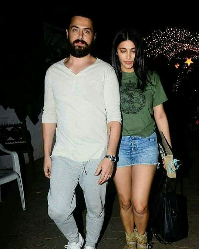 India Tv - Shruti Haasan with rumoured beau Michael