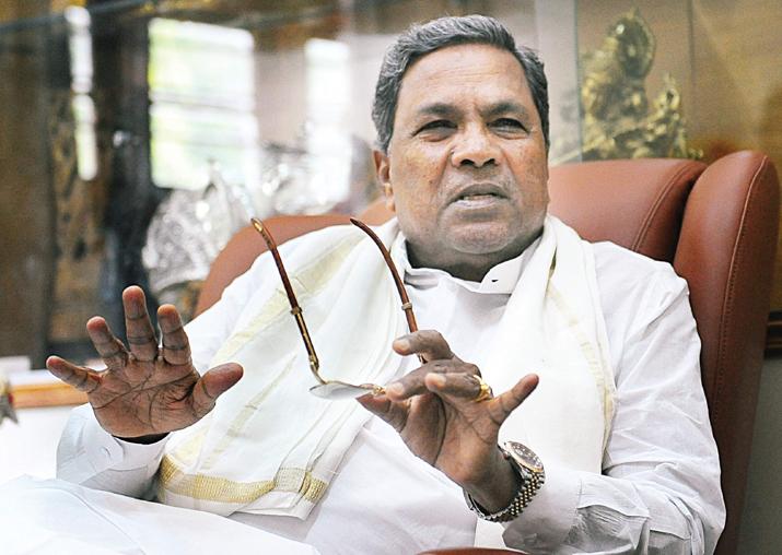 File pic of Karnataka CM Siddaramaiah