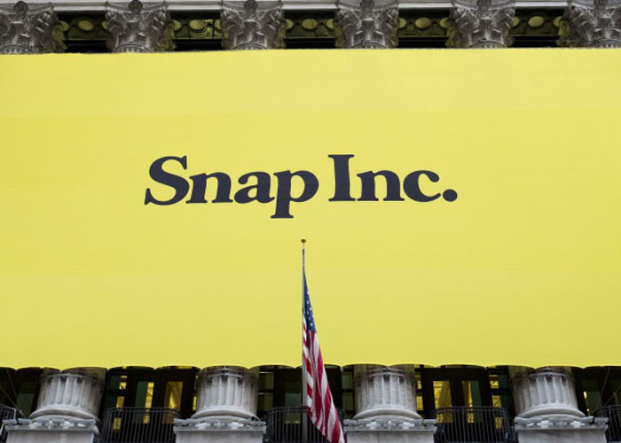 Snap Inc. has also come under fire after announcing slowing