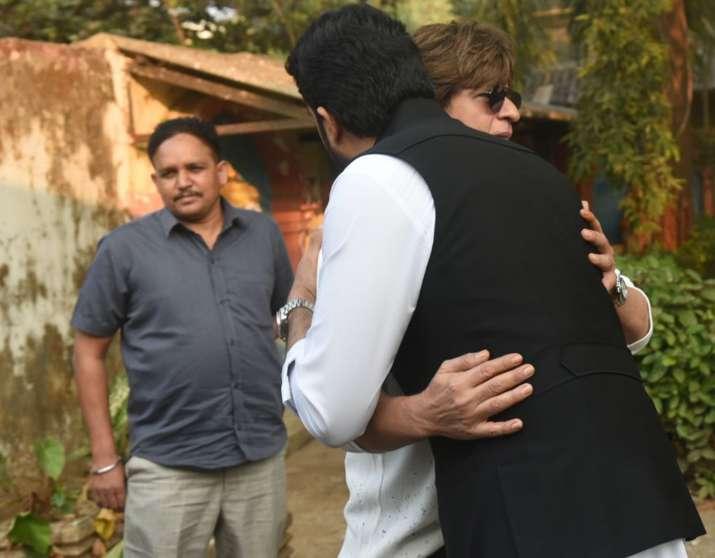 India Tv - Shah Rukh Khan, Abhishek Bachchan