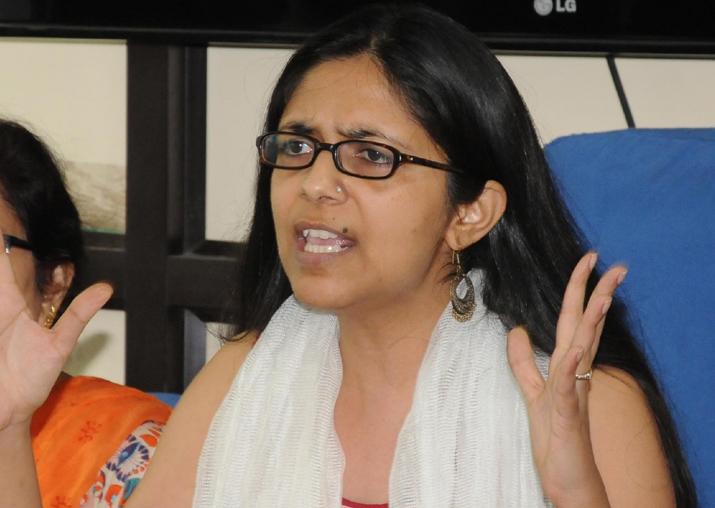 File pic of DCW chief Swati Maliwal