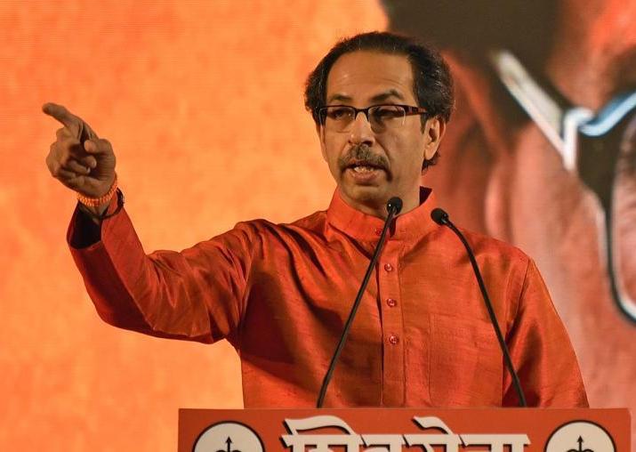 File pic of Shiv Sena supremo Uddhav Thackeray