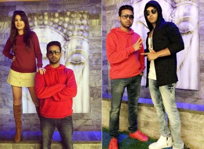 Puneesh Sharma Bandgi Kalra Bigg Boss 11 reunion with Luv