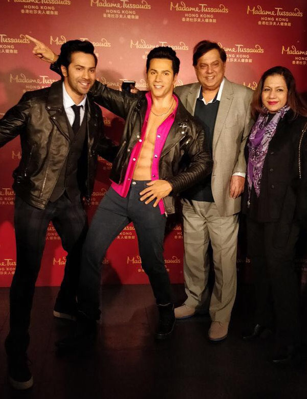 India Tv - Varun Dhawan wax statue