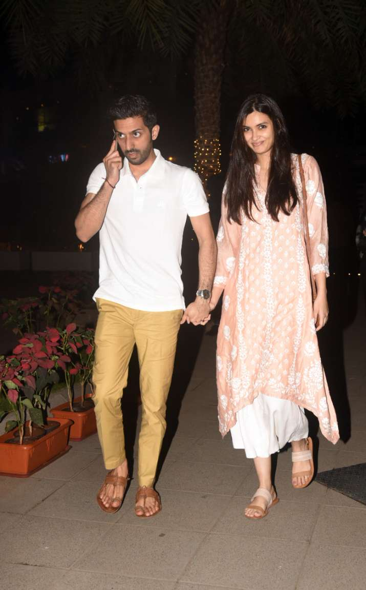 India Tv - Diana Penty with boyfriend Harsh Sagar