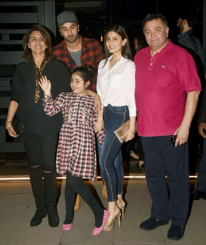 India Tv - Kapoor family