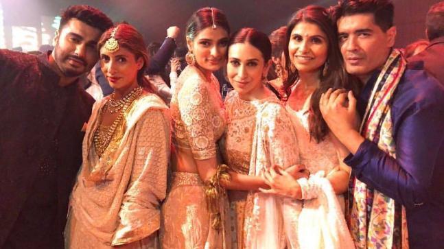 India Tv - Karisma Kapoor poses with Shweta Nanda