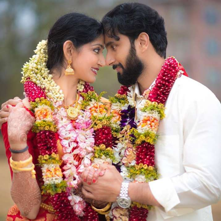 India Tv - Divya Unni ties the knot for the second time