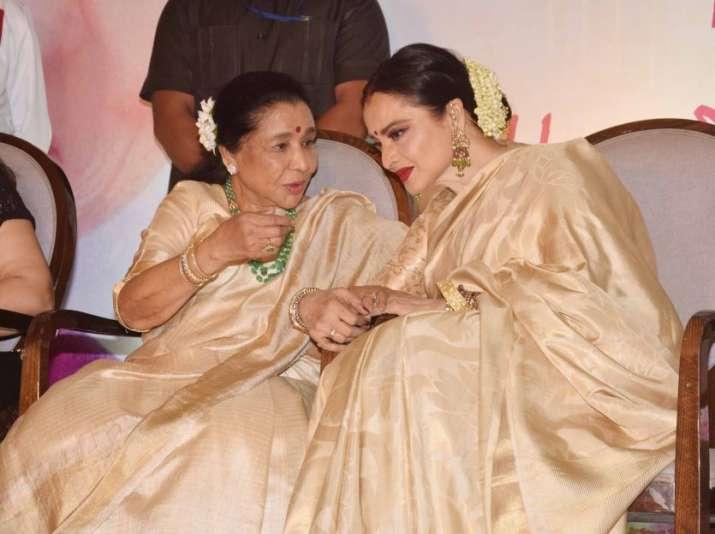 India Tv - Rekha, Asha Bhosle