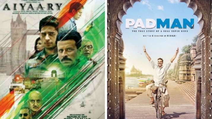 No Aiyaary Vs Pad Man Sidharth Malhotra S Film Likely To Get