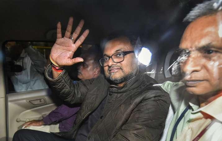 Karti Chidambaram was remanded to one-day CBI custody by a