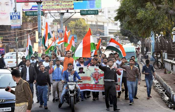 Death of Chandan Gupta during Tiranga Yatra led to
