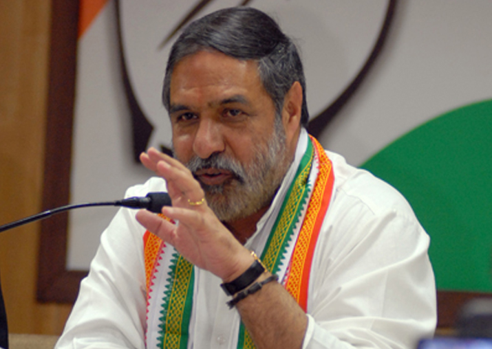 Congress senior spokesperson Anand Sharma