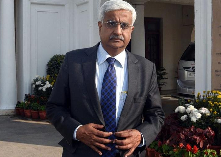 File pic of Delhi Chief Secretary Anshu Prakash