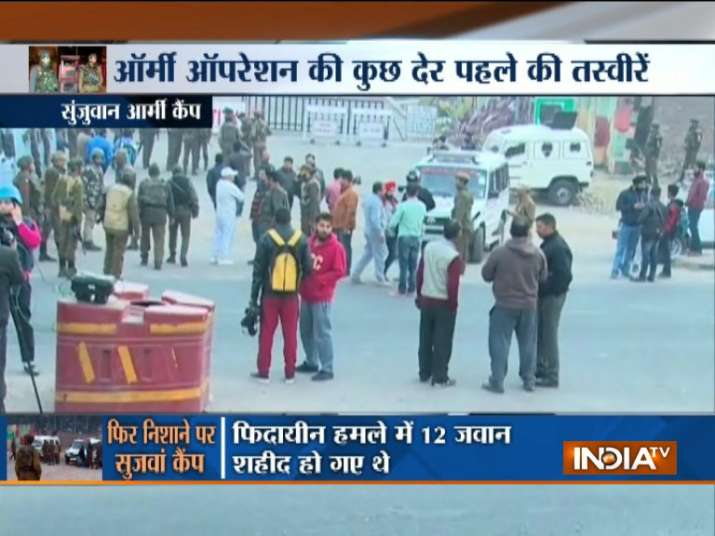 Terrorists attack Army camp in Jammu and Kashmir's Sunjwan.