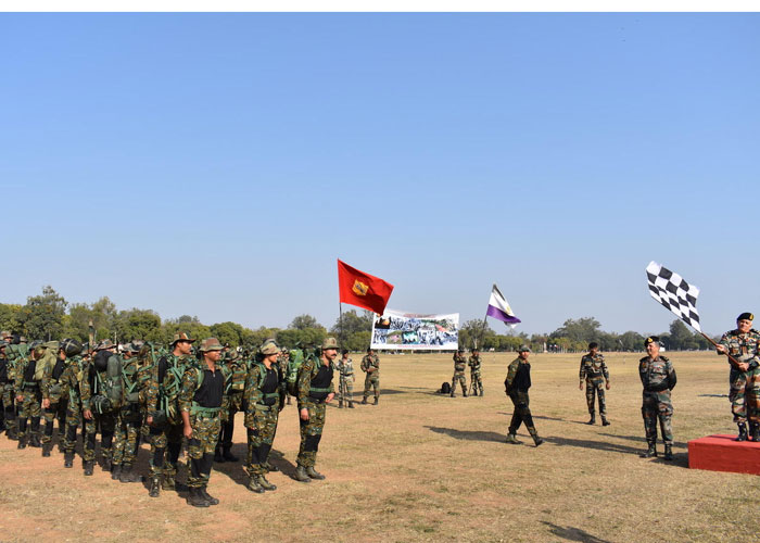 The Indian Army flagged off a Chindits Trail Expedition to
