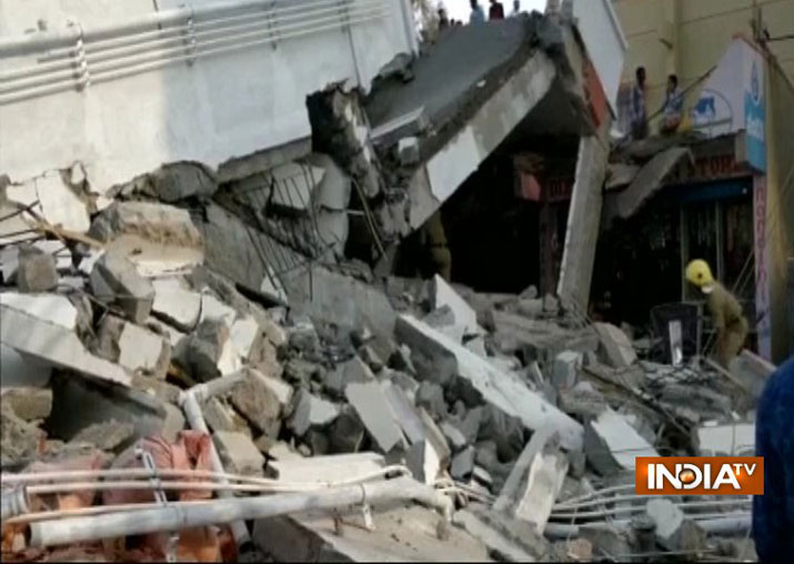 Bengaluru: Five-storey building collapse leaves three dead