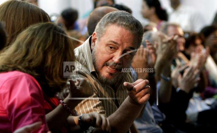 In this March 14, 2012 file photo, Fidel Castro