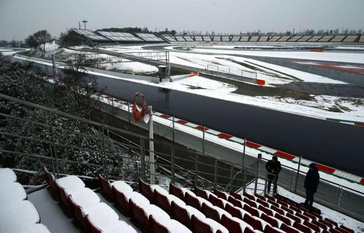 Formula One Testing in Spain